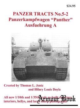 """Panzerkampfwagen """"Panther"""" Ausfuehrung A [Panzer Tracts No.5-2]"""