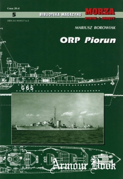 ORP Piorun [Biblioteka Magazynu Morza Statki i Okrety №5]