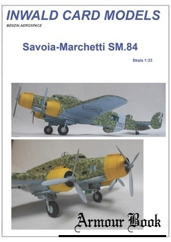 Savoia-Marchetti SM.84 [Inwald Card Models]