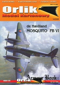 De Havilland Mosquito FB VI [Orlik 036]