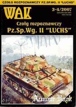 """Czolg rozpoznawczy Pz.Sp.Wg.II """"Luchs"""" [WAK 2007-03/04]"""