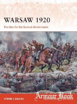Warsaw 1920: The War for the Eastern Borderlands [Osprey Campaign 349]