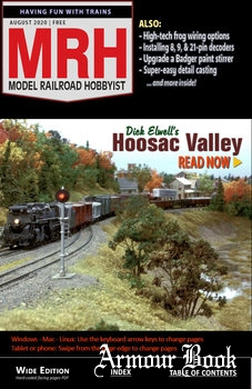 Model Railroad Hobbyist 2020-08