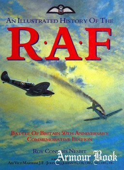 An Illustrated History of the R.A.F. [Colour Library Books]