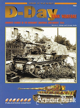 D-Day Tank Warfare: Armored Combat in the Normandy Campaign [Concord 7002]