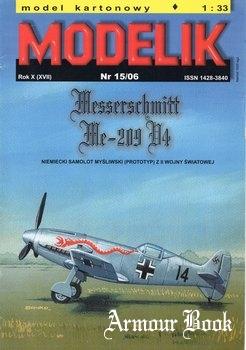 Messerschmitt Me-209 V4 [Modelik 2006-15]