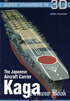 The Japanese Aircraft Carrier Kaga [Super Drawings in 3D №16031]