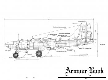 Чертежи Douglas A-26C Invader с клепкой [Kantosha Mook]