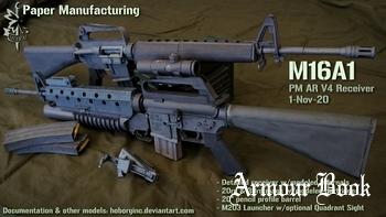 AR V4 M16A1 [Paper Manufacturing]