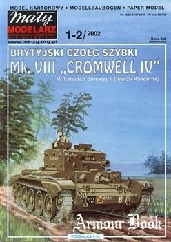 Mk. VIII Cromwell IV [Maly Modelarz 2002-01/02]