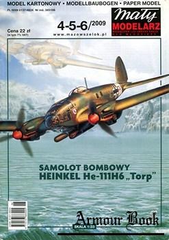 "Heinkel He-111H6 ""Torp"" [Maly Modelarz 2009-04/05/06]"