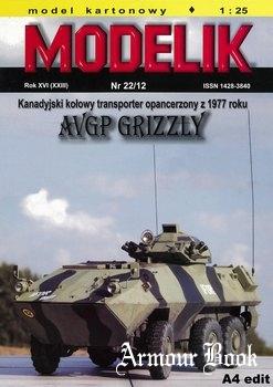 AVGP Grizzly [Modelik 2012-22]