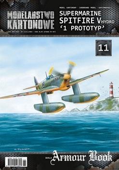 Supermarine Spitfire Mk.V hydro [Modelarstwo Kartonowe 011]