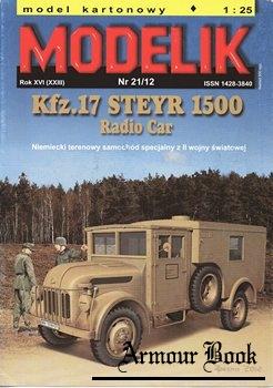Kfz.17 Steyr 1500 Radio Car [Modelik 2012-21]