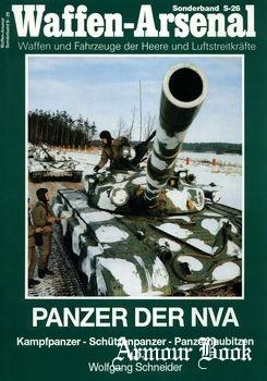 Panzer der NVA: Kampfpanzer, Schuetzenpanzer, Panzerhaubitzen [Waffen-Arsenal Sonderband S-26]