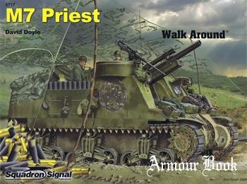 M7 Priest Walk Around [Squadron Signal 5717]