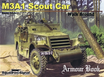 M3A1 Scout Car Walk Around [Squadron Signal 5720]