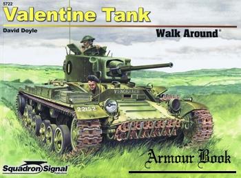 Valentine Tank Walk Around [Squadron Signal 5722]