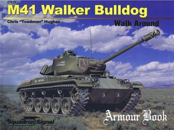 M41 Walker Bulldog Walk Around [Squadron Signal 27024]