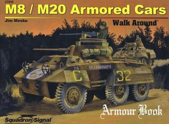 M8/M20 Armored Cars Walk Around [Squadron Signal 27030]