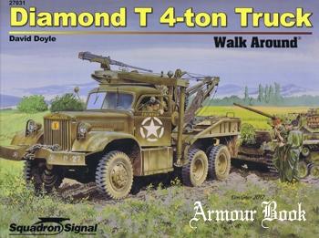 Diamond T 4-Ton Truck Walk Around [Squadron Signal 27031]