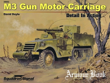 M3 Motor Gun Carriage Detail in Action [Squadron Signal 39002]