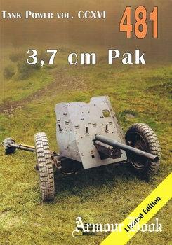 3,7 cm Pak [Wydawnictwo Militaria 481]