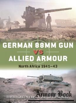 German 88mm Gun vs Allied Armour: North Africa 1941-1943 [Osprey Duel 109]