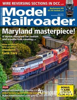Model Railroader 2021-04