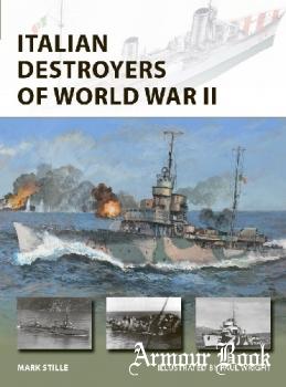 Italian Destroyers of World War II [Osprey New Vanguard 292]