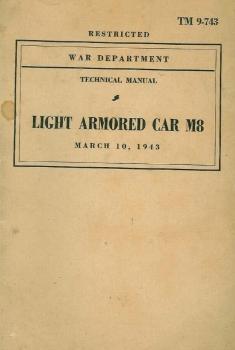 TM 9-743: Light Armored Car M8