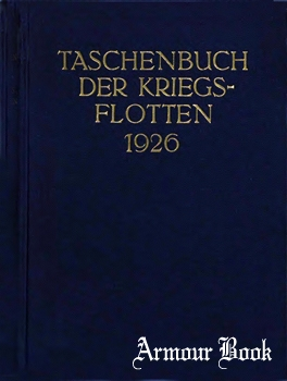 Taschenbuch der Kriegsflotten 1926 [J.F. Lehmann's Verlag]