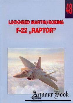 """Lockheed Martin/Boeing F-22 """"Raptor"""" [Wydawnictwo Militaria 048]"""
