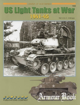 US Light Tanks at War 1941-1945 [Concord 7038]