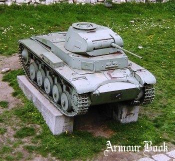 Panzer II Ausf C Sd.Kfz 121 [Walk Around]