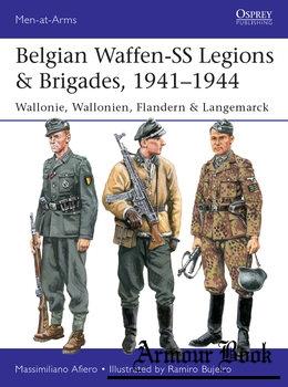 Belgian Waffen-SS Legions & Brigades 1941-1944 [Osprey Men-at-Arms 539]