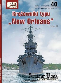 """Krazowniki typu """"New Orleans"""" cz.II [Okrety Wojenne Numer Specjalny №40]"""