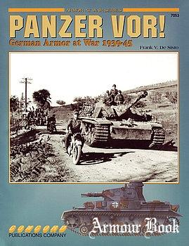 Panzer Vor! German Armor at War 1939-1945 [Concord 7053]