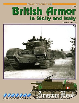 British Armor in Sicily and Italy [Concord 7068]