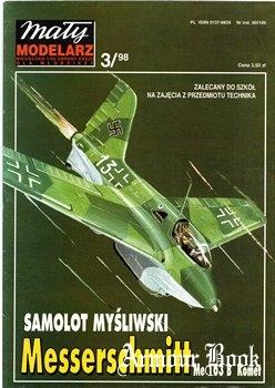 Messerschmitt Me 163B Komet [Maly Modelarz 1998-03]