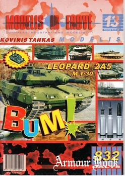 Leopard 2A5 [Modelis ir Erdve 13]