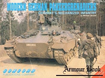 Modern German Panzergrenadiers: Germany's Mechanized Infantry [Concord 1018]