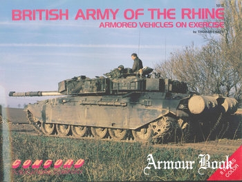 British Army of the Rhine: Armored Vehicles on Exercise [Concord 1012]