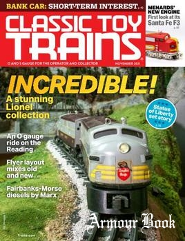 Classic Toy Trains 2021-11