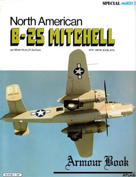 North American B-25 Mitchell [Editions Atlas]