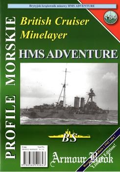 British Cruiser Minelayer HMS Adventure [Profile Morskie №134]