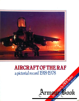 Aircraft of the RAF: A Pictorial Record 1918-1978 [MacDonald and Jane's]