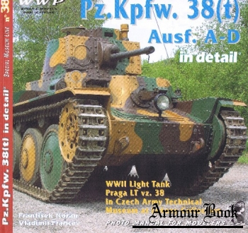 Pz.Kpfw. 38(t) Ausf. A-D in Detail [WWP Red Special Museum Line №38]
