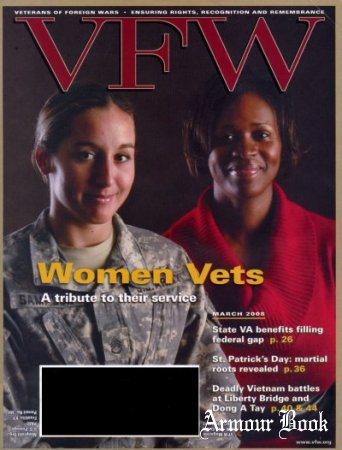 VFW - Veterans of Foreign Wars, Vol. 95 No. 7 (March 2008)