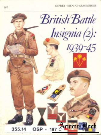 British Battle Insignia (2) 1939-45 [Osprey - Men-at-Arms 187]